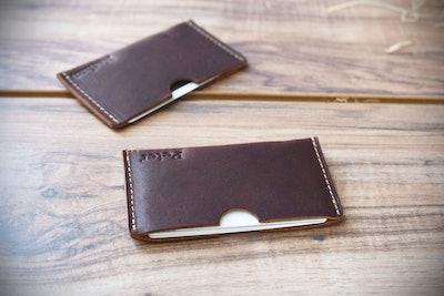CRichardsLeather - Leather Card Sleeve