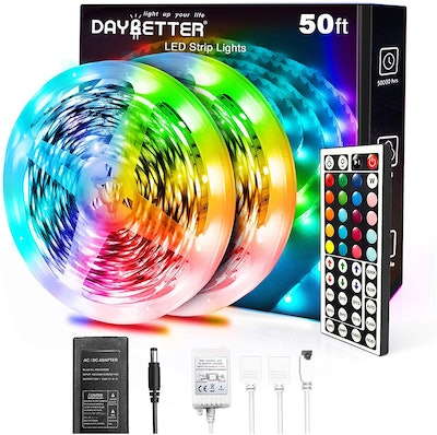 Daybetter 5050 RGB LED Lights Strip With Remote