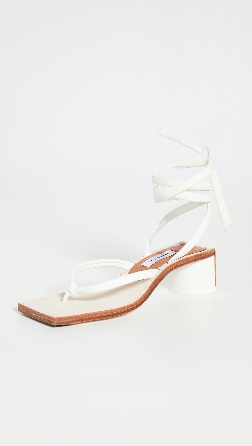 Leslie Wrap Up Sandals