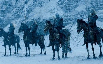The White Walker leaders in Game of Thrones