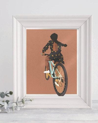 ShereeBrandPaperCo - And I'm Off Art Print