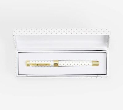 Gold Dot Pen