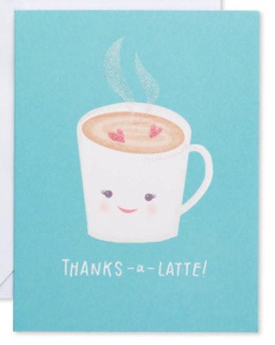 Thanks-a-Latte Card