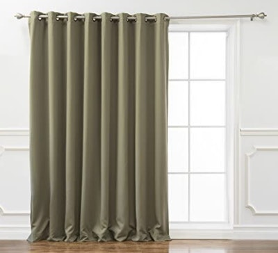 Best Home Fashion Wide Width Thermal Blackout Curtain