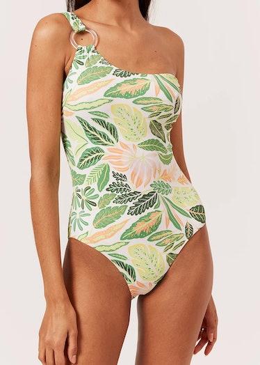 The Juliana in Palm Leaf Print