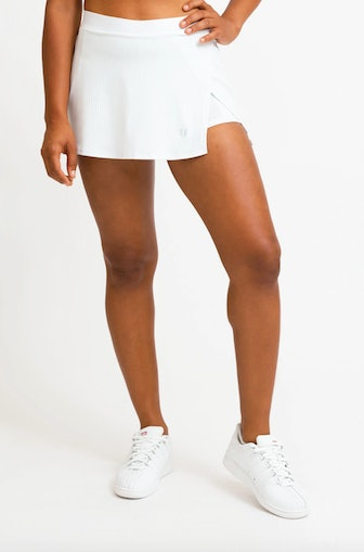 Can't Stop Won't Stop Skirt In White