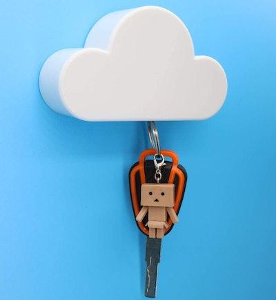 Meyerascal White Cloud Magnetic Key Holder