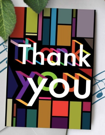 Recordable Thank You Greeting Card