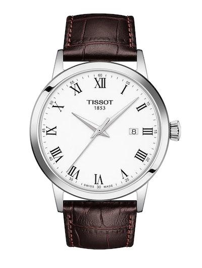Tissot Classic Dream Leather Strap Watch, 42mm