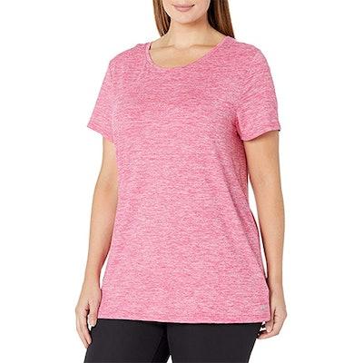 Amazon Essentials Plus Size Tech Stretch Short-Sleeve Crewneck T-Shirt