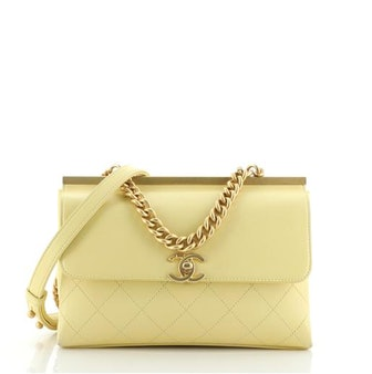 Chanel Coco Luxe Flap Bag Quilted Lambskin