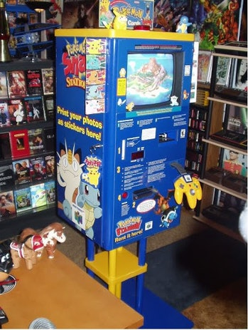 The Pokemon Snap Station allowed players of the '90s game to print out in-game pictures.