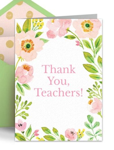 Spring Teacher Thank You