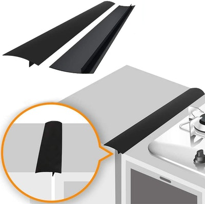 Linda's Essentials Silicone Stove Gap Cover (2-Pack)
