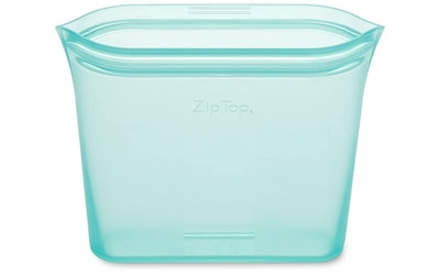 Zip Top Reusable Silicone Food Storage Bags