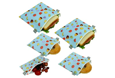 ANLOMI Reusable Sandwich Bags Snack Bags