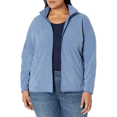 Amazon Essentials Plus Size Full-Zip Polar Fleece Jacket