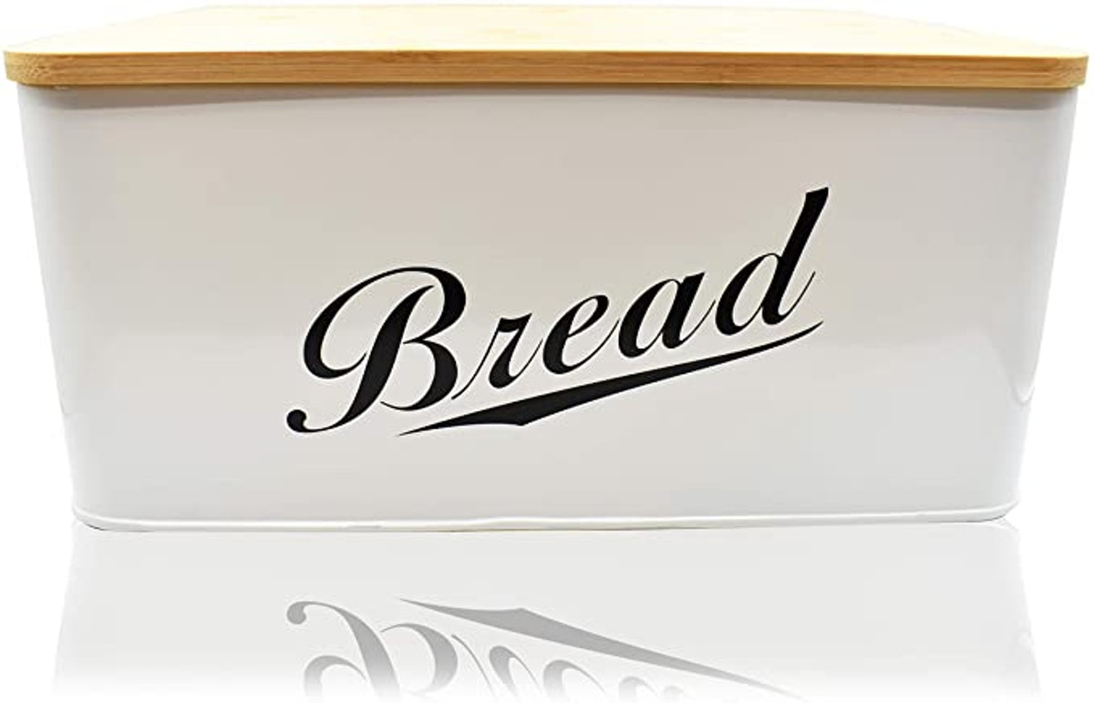 RoyalHouse Modern Metal Bread Box