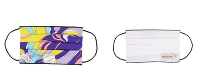 Emilio Pucci Abstract Pattern Face Mask