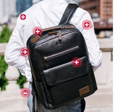 Solo New York Kilbourn Leather Backpack