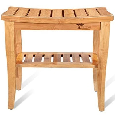 ToiletTree Products Bamboo Shower Bench