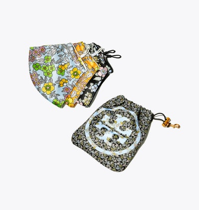 Tory Burch Face Masks With Pouch
