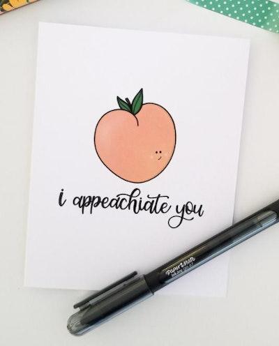 "HearttoHomePam ""Appeachiation"" Card"