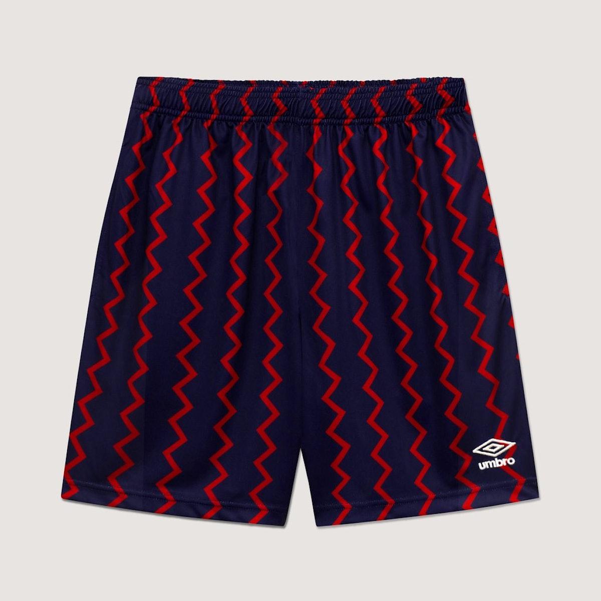 Rowing Blazers x Umbro Zig-Zag Shorts