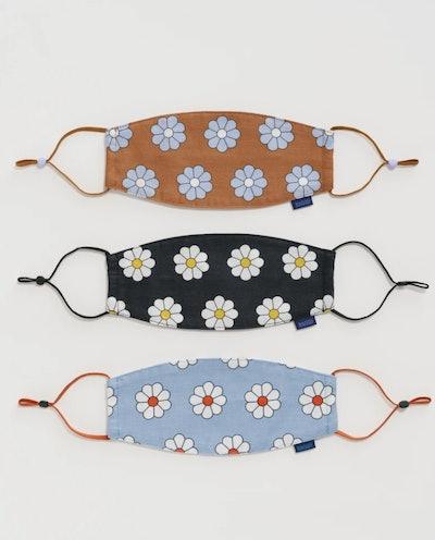 Baggu Fabric Mask with Loops Set