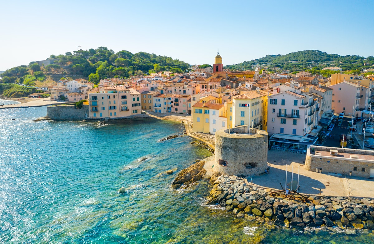 Côte d'Azur France post-pandemic travel destinations
