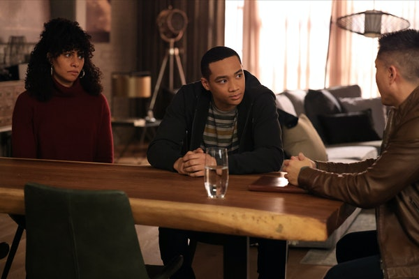 CHRISTINA MOSES as Regina and ADAM SWAIN as Tyrell in 'A Million Little Things' Season 3, Episode 11