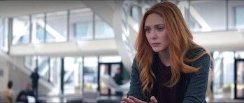 WandaVision Black Widow connection flashback grief
