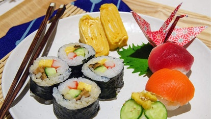 Learn how to throw a home sushi party: an interactive cooking lesson from Tokyo
