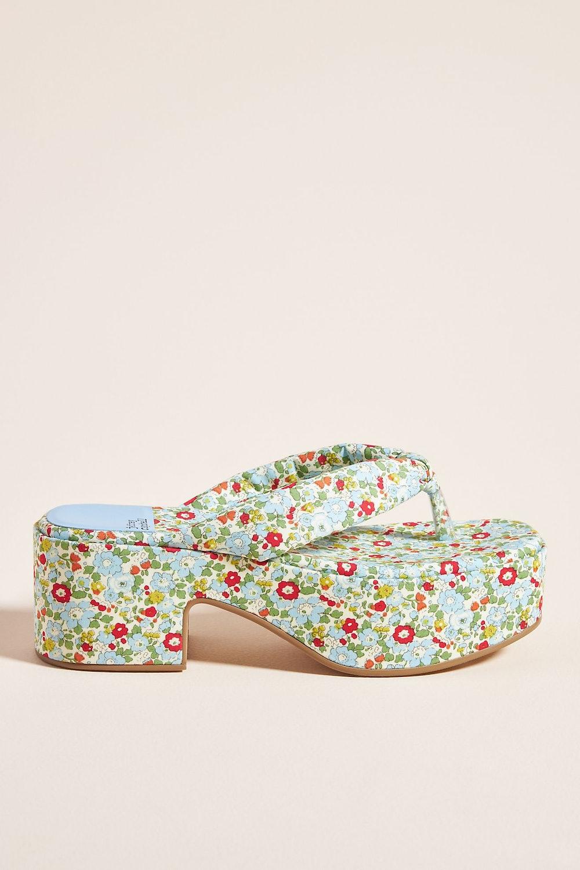 Platform Flip-Flop Sandals