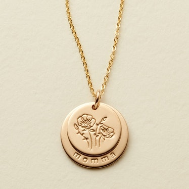 Nora Disc Necklace