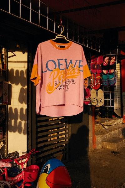 Loewe x Paula's Ibiza Oversize Short T-shirt