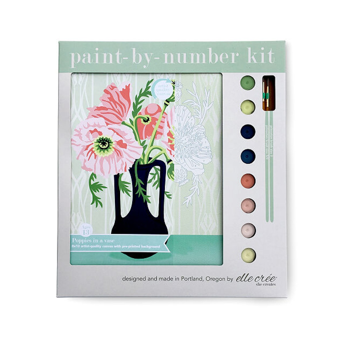 Springtime Paint-by-Number Kit