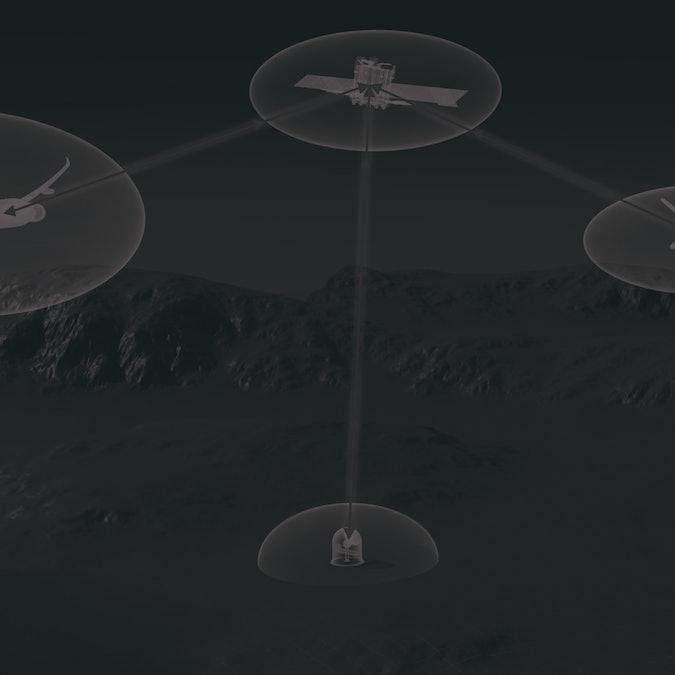 Airbus UltraAir laser communication system
