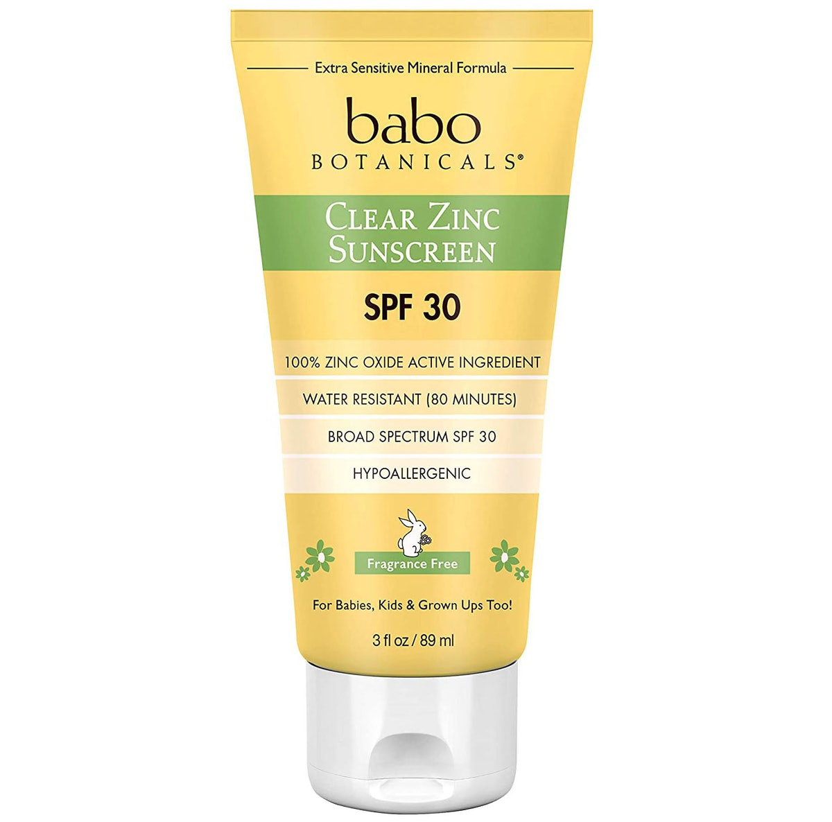Babo Botanicals Zinc Sunscreen Lotion SPF 30