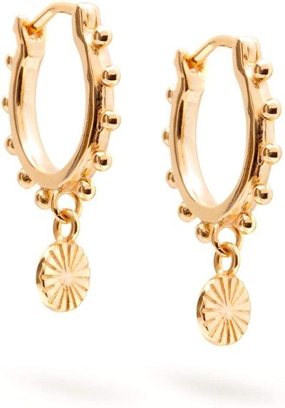 Timeless 18-Karat Gold Vermeil Earrings