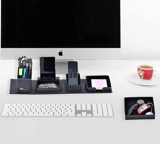 JOINTOP Leather Office Desk Organizers