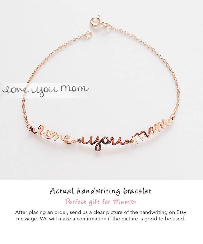 Handwriting bracelet — IMESILVER