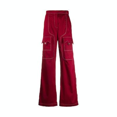 Thebe Magugu cargo pants
