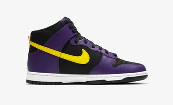 "Nike ""Court Purple"" Dunk High"