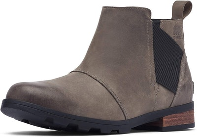 Sorel Emelie Chelsea Waterproof Ankle Boots