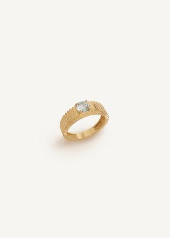 Solis Ribbed Ring II