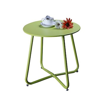 Grand Patio Steel Side Table