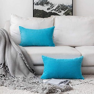 Home Brilliant Rectangle Throw Pillow Covers