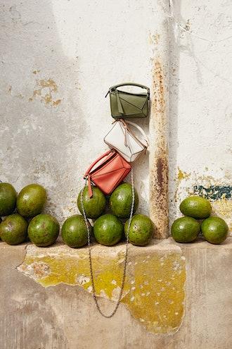 Loewe x Paula's Ibiza Nano Puzzle Bag