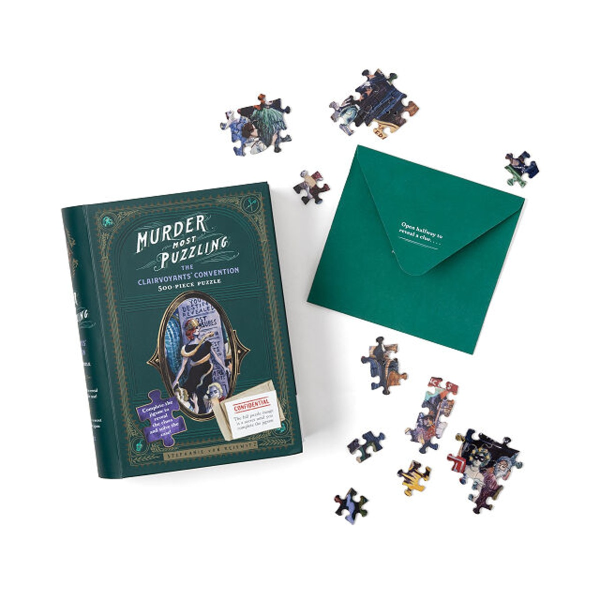 Murder Mystery Jigsaw Puzzle (500 Pieces)